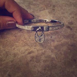 Michael kids lock bracelet
